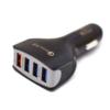 Kép 1/3 - Szivargyújtó adapter 4 db USB csatlakozóval