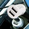 Kép 1/4 - 2,4A szivargyújtó adapter / 2 db USB csatlakozóval, tablethez is
