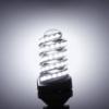 Kép 2/2 - Spirál 12W LED fénycső E27 foglalatba, meleg fehér