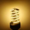 Kép 1/2 - Spirál 12W LED fénycső E27 foglalatba, meleg fehér
