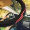 Kép 1/4 - Sport műbőr kormányvédő / mintás