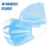 Kép 1/4 - Háromrétegű egészségügyi szájmaszk csomag, 10 darabos
