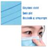 Kép 3/4 - Háromrétegű egészségügyi szájmaszk csomag, 10 darabos
