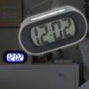 Kép 1/3 - Szilikon borítású digitális ébresztőóra