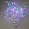 Kép 2/5 - Világító LED gömb fényfüzér / 200 cm