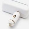 Kép 4/4 - 90 fokban forgatható szivargyújtó elosztó / 2 db szivargyújtó + 2 db USB kimenet