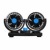 Kép 2/5 - Duplafejű autós ventilátor – szivargyújtós csatlakozóval