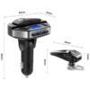 Kép 3/4 - Bluetooth FM transzmitter headsettel / autós kihangosító és zenelejátszó