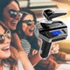 Kép 1/4 - Bluetooth FM transzmitter headsettel / autós kihangosító és zenelejátszó