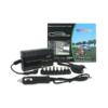 Kép 1/4 - Univerzális laptop töltő autós és otthoni használatra / szivargyújtós + hálózati csatlakozóval