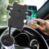 Kép 1/5 - Tapadókorongos flexibilis szárú mobiltartó autóba