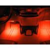 Kép 4/5 - Szivargyújtós LED lábtérvilágítás autóba / 4x9 leddel, távirányítóval