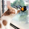 Kép 6/6 - Üvegre rögzíthető macskajáték / labdás játék macskáknak