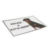 Kép 3/3 - Vigyázz! A kutya harap! - Figyelmeztető tábla