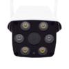 Kép 2/3 - F3611 Mozgásérzékelős HD WiFi biztonsági kamera / IR Bullet kamera