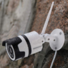 Kép 1/5 - F-6003-4 Mozgásérzékelős HD LED WiFi biztonsági kamera, Cloud funkcióval