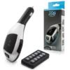 Kép 1/4 - X6 Bluetooth FM transzmitter / autós kihangosító és zenelejátszó távirányítóval