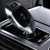 Kép 2/4 - X7 Bluetooth FM transzmitter / autós kihangosító és zenelejátszó távirányítóval