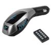 Kép 4/4 - X7 Bluetooth FM transzmitter / autós kihangosító és zenelejátszó távirányítóval