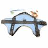 Kép 5/5 - XL-es kutyahám / 30-40 kg-os kutyák számára - piros