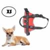 Kép 1/5 - XS-es kutyahám / 2-5 kg-os kutyák számára - piros