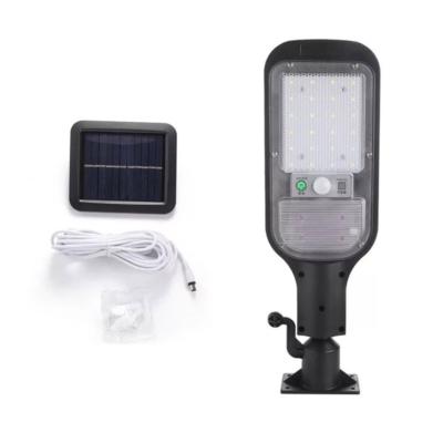 Mozgásérzékelős utcai lámpa, napelemes, 120 W