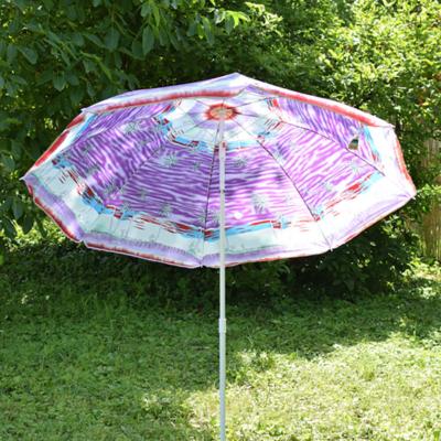 Dönthető, pálmafás napernyő állítható leszúró állvánnyal / 180x150 cm (B)