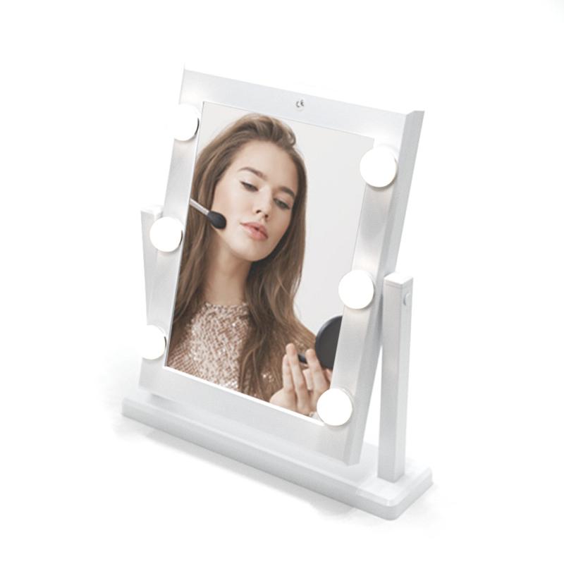 36 LED-es sminktükör / Kozmetikai tükör