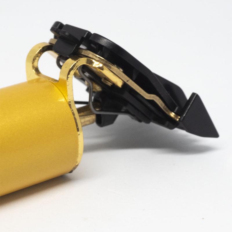 Akkumulátoros hajtrimmelő / négy fejjel / arany
