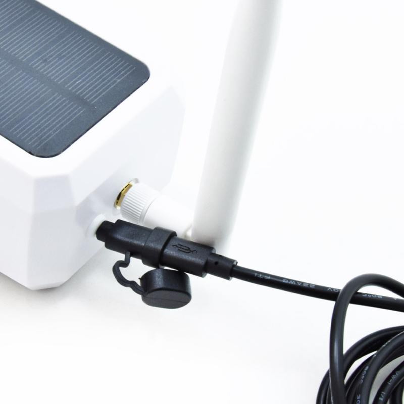 Low Power napelemes WiFi biztonsági kamera mozgásérzékelővel