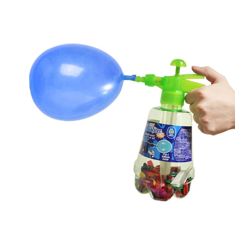 2in1 vízibomba pumpa – 1,7 Literes tartállyal / 100 db lufival