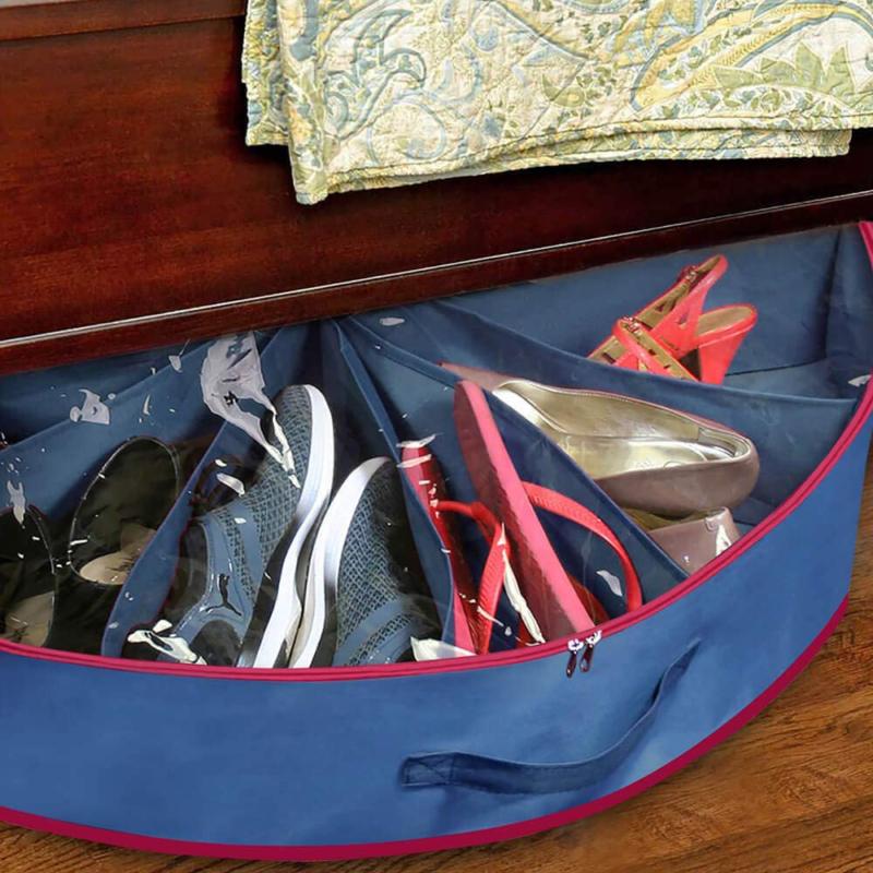 Kerek cipő rendszerező – 12 pár cipőnek / helymegtakarító cipőtároló