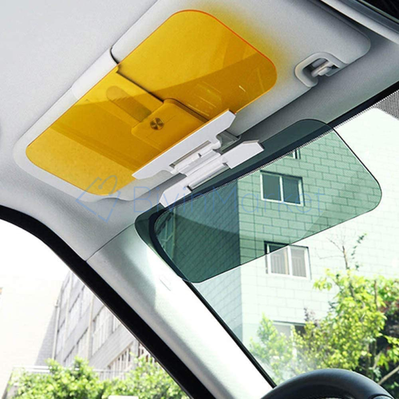 Autós fényszűrő – napellenzőre csíptethető / látássegítő napellenző autóba