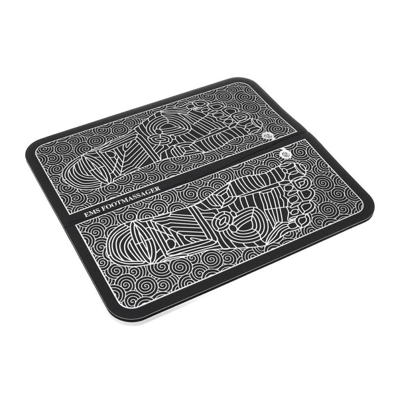 Elektromos talpmasszírozó szőnyeg – infravörös hő- és vibrációs masszázs / EMS izomstimuláló / 6 móddal