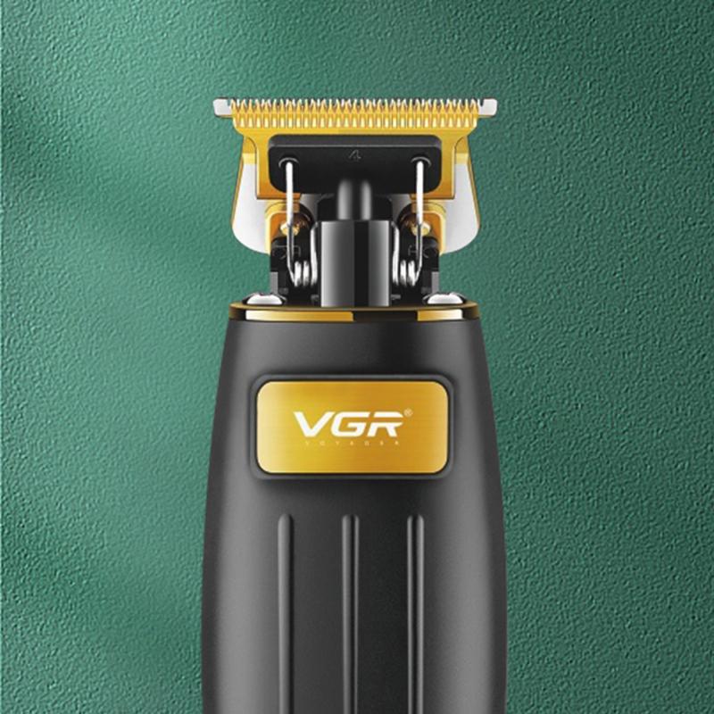 Professzionális elektromos hajnyíró – vezeték nélküli trimmelő / arany-fekete (V-192)