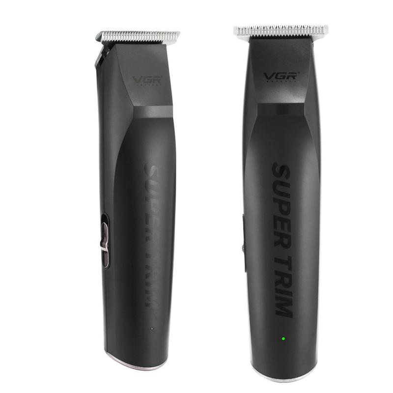 Professzionális mini trimmelő – vezeték nélküli / matt fekete (V-229)