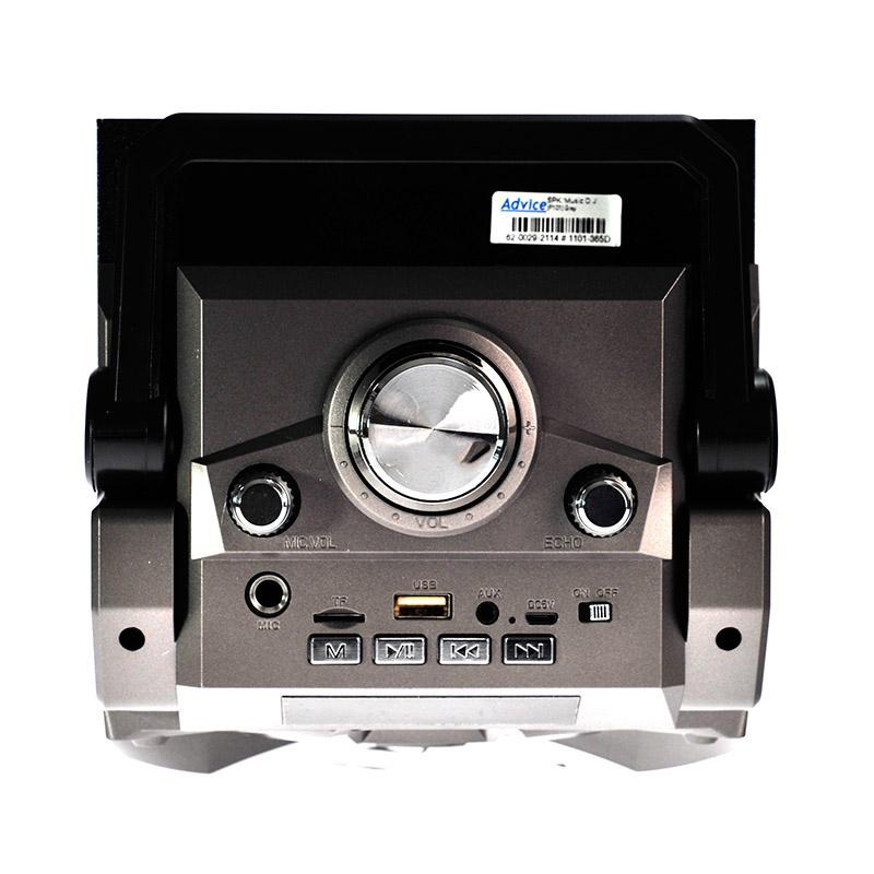 Vezeték nélküli, hordozható Bluetooth hangszóró és zenelejátszó (P-101)