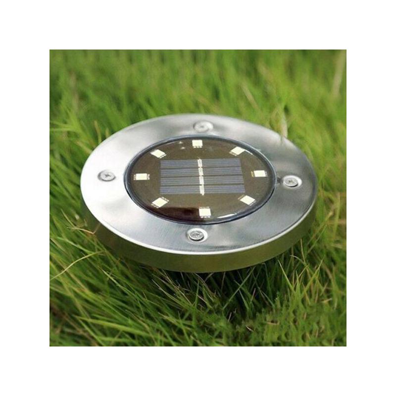 Solar Disc – Napelemes LED lámpa fényérzékelővel