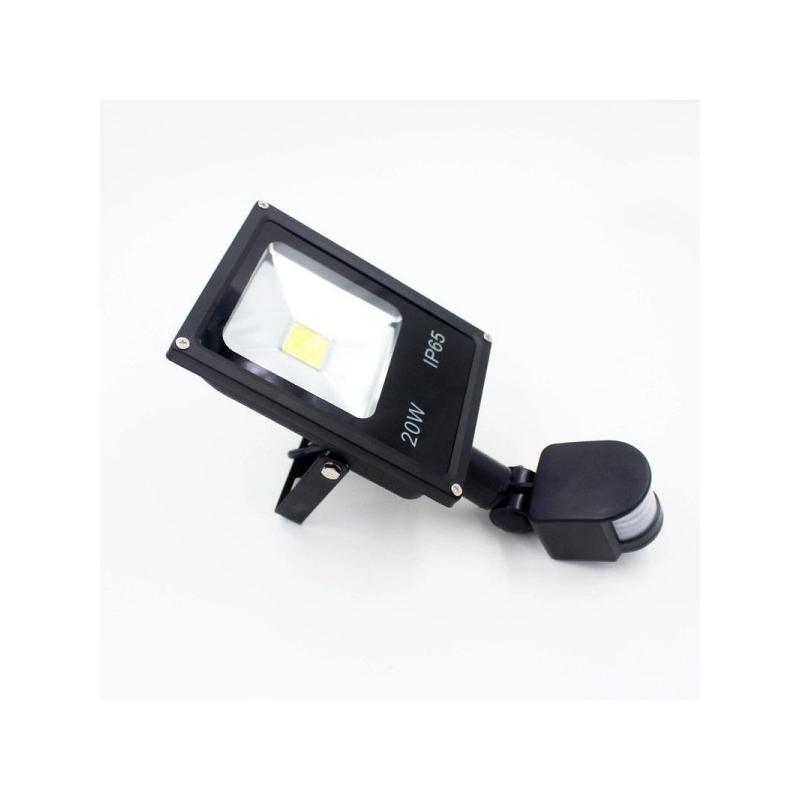 Mozgásérzékelős 20W CREE LED energiatakarékos reflektor