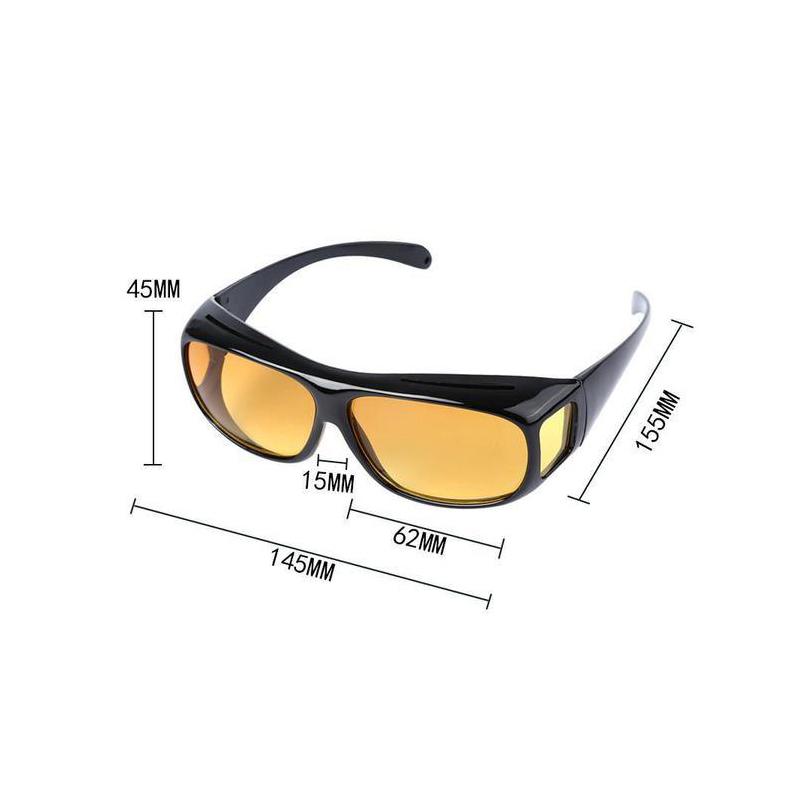 2 db Clear Vision tisztánlátó szemüveg, nappali és éjszakai vezetéshez is