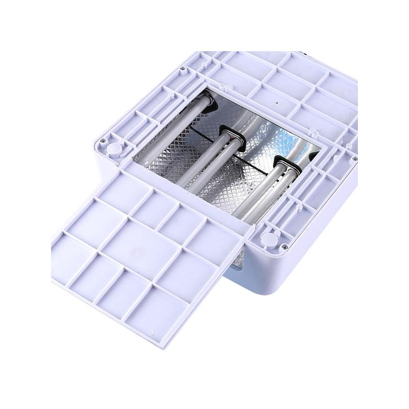Triplacsöves UV lámpa műkörömhöz / 36W