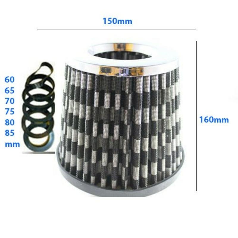LG-MT2502C Direkt szűrő / Sport levegőszűrő karbon