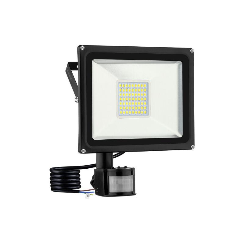 Mozgásérzékelős 50W CREE LED energiatakarékos reflektor