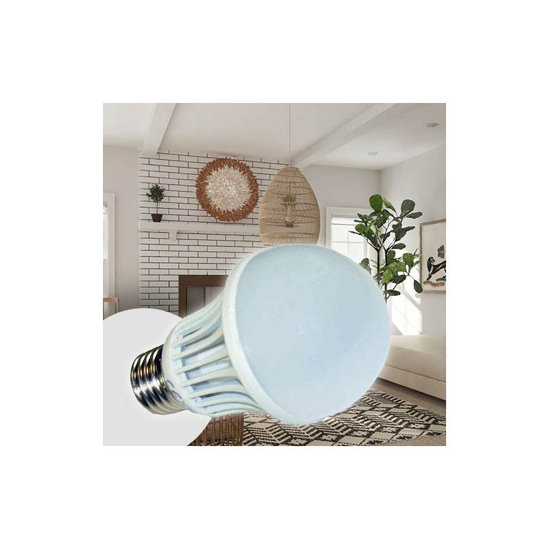 5W=55W energiatakarékos LED izzó, E27 foglalatba - hideg fehér