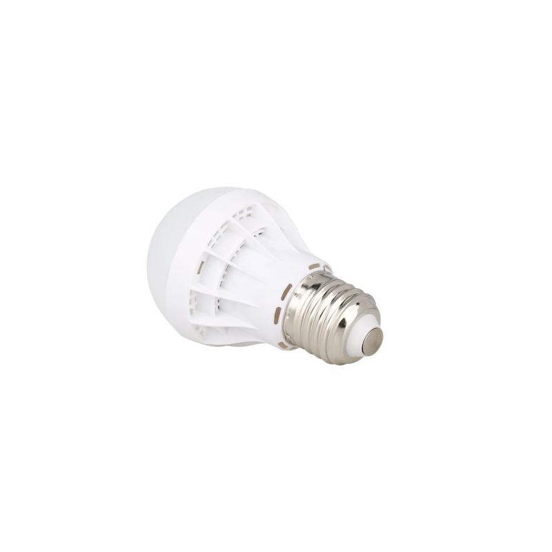 9W energiatakarékos LED izzó, E27 foglalatba / 9W=~50W, meleg fehér