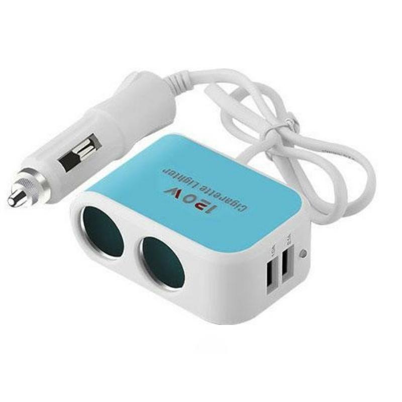 Szivargyújtó és USB elosztó AE-SK802
