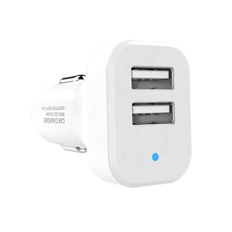Ezra szivargyújtó adapter 2 db USB csatlakozóval / 2.1A(CR06)