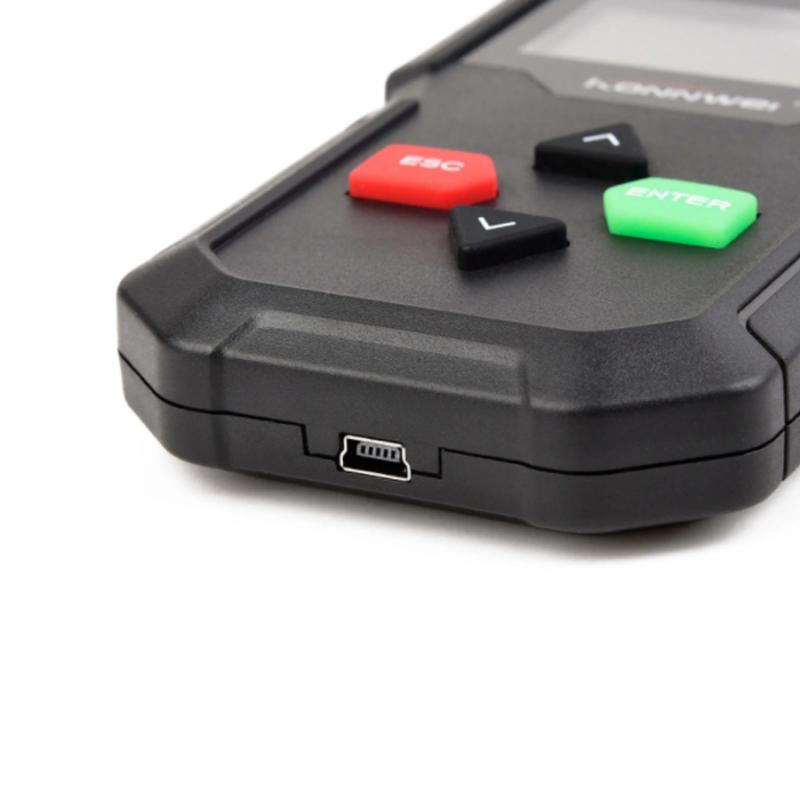 KW590 Autódiagnosztikai szkenner – hibakód olvasó és törlő, OBD2/EOBD