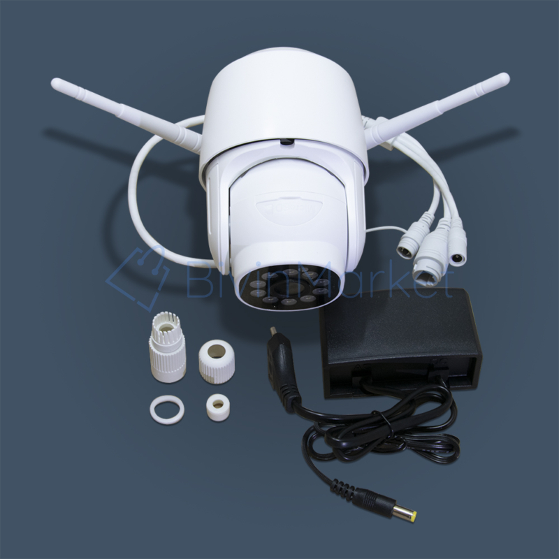 360 fokos wifi-s biztonsági kamera