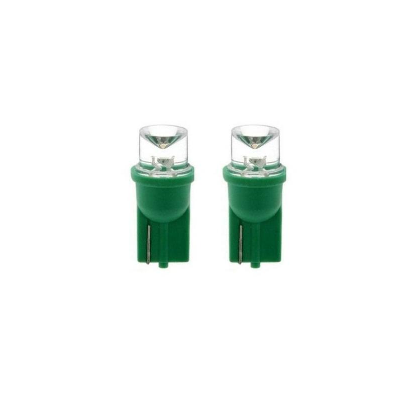 Szórt fény T10 zöld helyzetjelző LED izzó CSL2028G